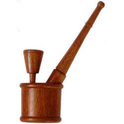 wood hookah