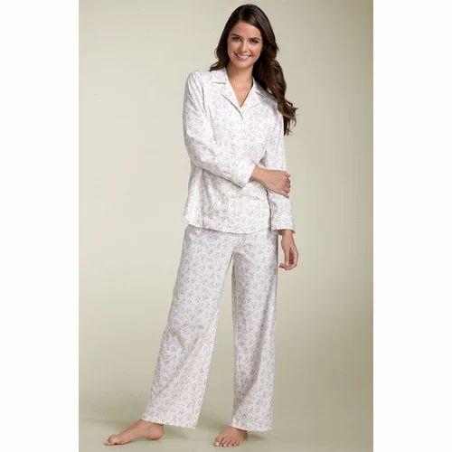 fc66ee80c3 Women s Sleepwear Sets - Knitted Women Sleepwears Exporter from Noida