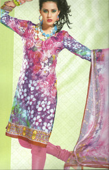 Unstitched Indian Salwar Suit