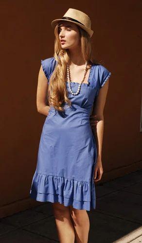 Designer Cotton Dress