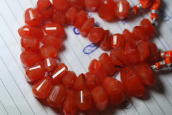 Carnelian Faceted Nuggets