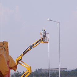 Street Light Installation