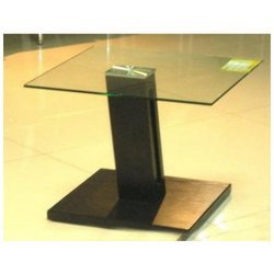 Center Table With Single Pillar