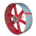 split type flat pulleys