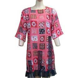 Colored Cotton Kurtis