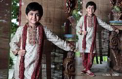 Designer Wedding Partywear Kids Sherwani/Kurta with Churidar