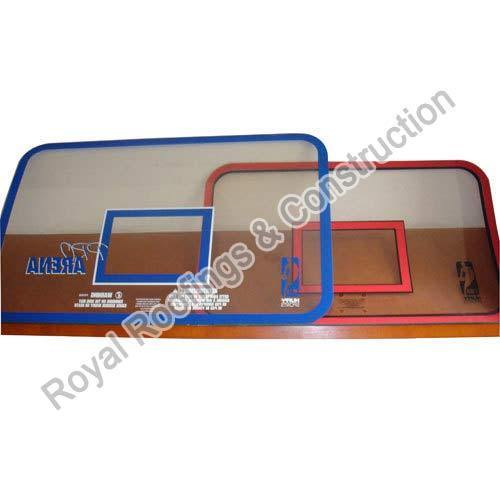 Basket Ball Glass Backboard