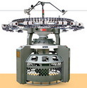 double jersey rib interlock knitting machine
