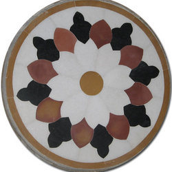 Marble Inlay Top