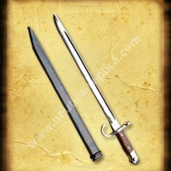 British SMLE bayonet With Scabbard