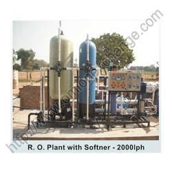 R O Plant With Softener - 2000LPH