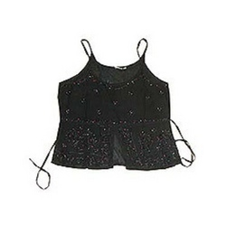 Rayon Embroidered Tank Top