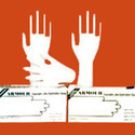 Pre Powdered Latex Examination Gloves