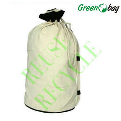 Jute Drawstring Laundry Bag