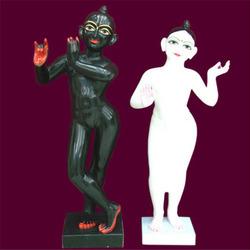 Marble Statues of Iskcon Radha Krishna