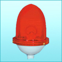 single aviation obstruction light