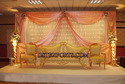 Latest Asian Wedding Gold Love Sofa