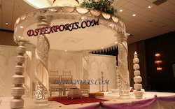New Design Fiber Crystal Mandap