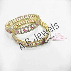 Modern Diamond Bangles