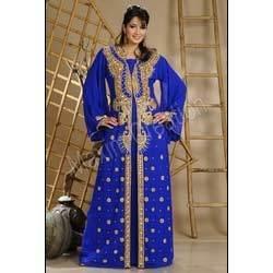 Blue Islamic Abaya