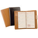 leather cover telephone diaries