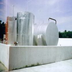 Edible Oil Storage Tank Installation