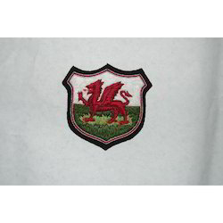 Welsh Dragoon Blazer Badge