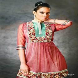 Three Forth Embroidered Kurtis