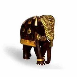 Rosewood Inlay Elephant