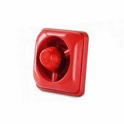 Fire Strobe(RED) Siren