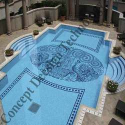 Swimming Pool Tile Work