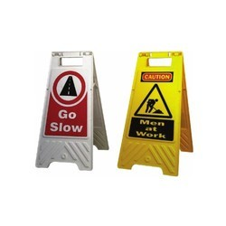 Floor Stand With Message