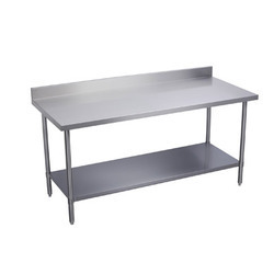 Work Table With One Under Shelf