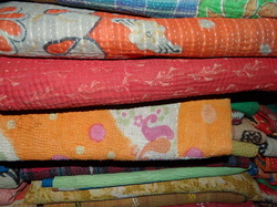 New Handmade Sari Quilts