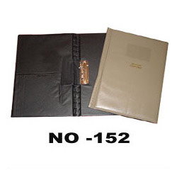 Leatherette Punchless Clip Files