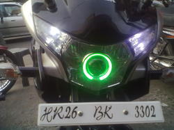 Projector Lens In Honda CBR