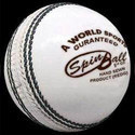 Spin Ball White Cricket Balls