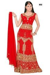Red Latest Lehenga