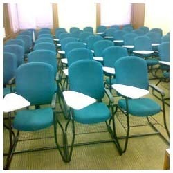 training room chairs writing pad chairs manufacturer from bengaluru