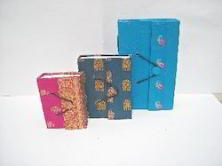 Saree Fabric Covered Notepads