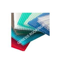 Colored Multiwall polycarbonate sheets