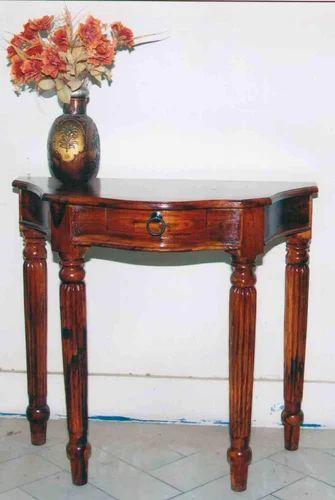 Sheesham Wood Console Table