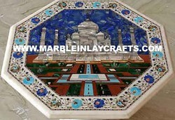 Wall Panel Taj Mahal with Inlay Work