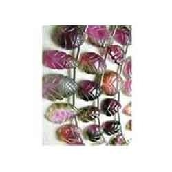 Bi-Colour Tourmaline Bead