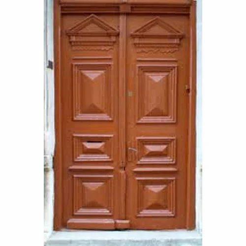 Light Brown Wooden Doors