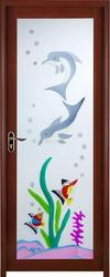I-leaf Decorative Aluminium Door