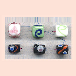 Rectangular Glass Beads