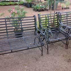 Garden Bench Set