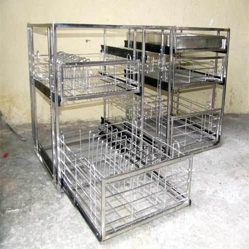 Kitchen Trolley Accessories: Stainless Steel Kitchen Accessories