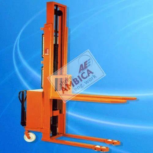 Semi Electric Hydraulic Stacker